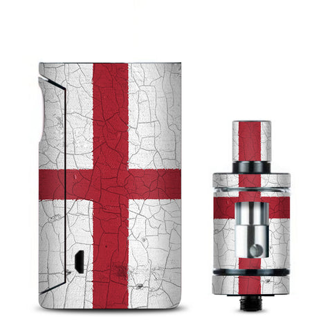 Flag England Grunge Distressed Country Vaporesso Drizzle Fit Skin