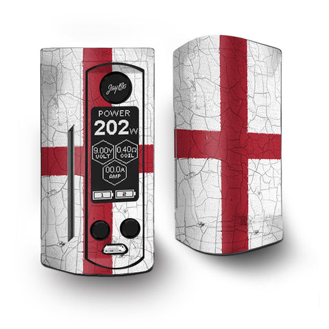 Flag England Grunge Distressed Country Vaporesso Armour Kit Skin