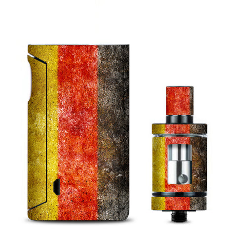 Flag Germany Grunge Distressed Country Vaporesso Drizzle Fit Skin