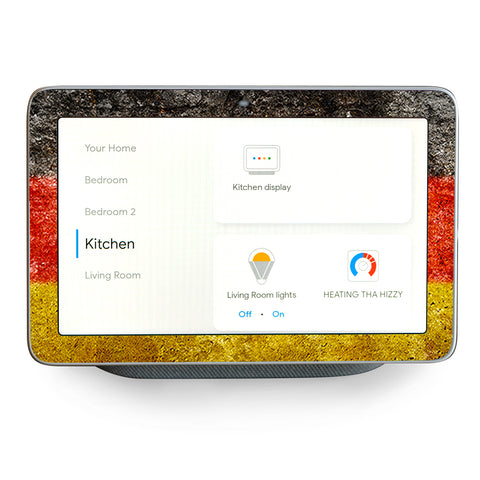 Flag Germany Grunge Distressed Country Google Home Hub Skin