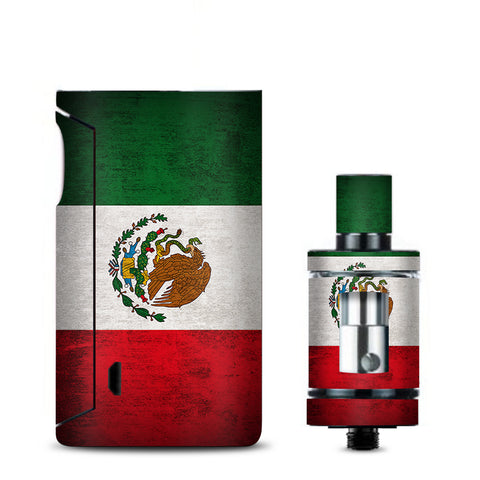 Flag Mexico Grunge Distressed Country Vaporesso Drizzle Fit Skin