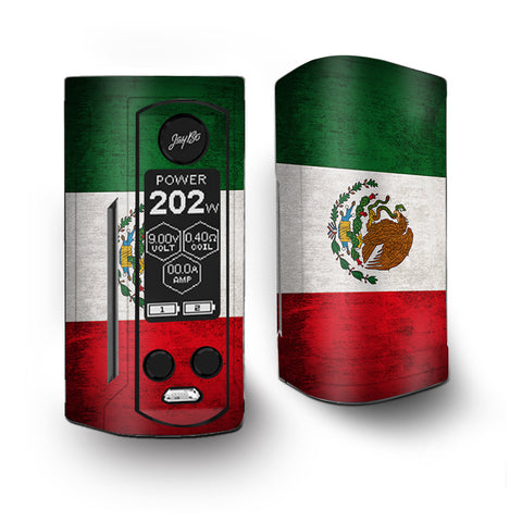 Flag Mexico Grunge Distressed Country Vaporesso Armour Kit Skin