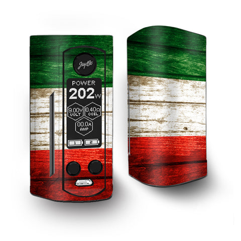 Flag Italy Grunge Distressed Country Vaporesso Armour Kit Skin