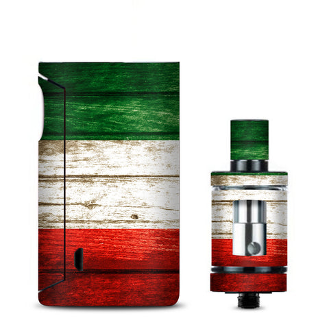 Flag Italy Grunge Distressed Country Vaporesso Drizzle Fit Skin