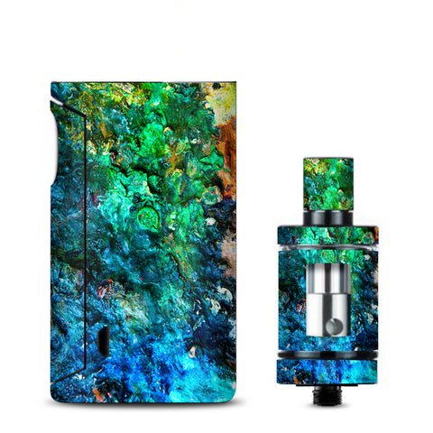 Stab Wood Oil Paint Vaporesso Drizzle Fit Skin