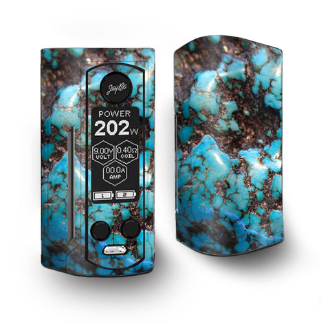 Stab Wood Blue Green Stabilized Stone Vaporesso Armour Kit Skin