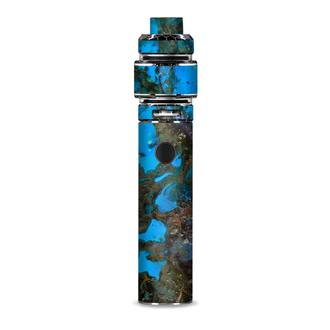 Stab Wood Oil Paint Blue Green Orange Smok Resa Stick Kit Skin