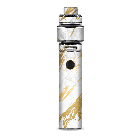 Gold Marlbe White Granite Stone Slate Smok Resa Stick Kit Skin