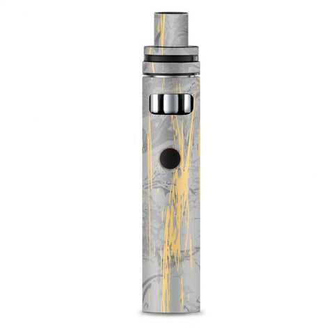 Gold Marble Light Gray  Stone Granite Smok Stick AIO Skin