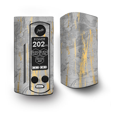 Gold Marble Light Gray  Stone Granite Vaporesso Armour Kit Skin