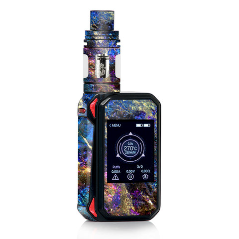Chalcopyrite Colorful Purple Glass Rock Crystal Smok Gpriv2 Skin