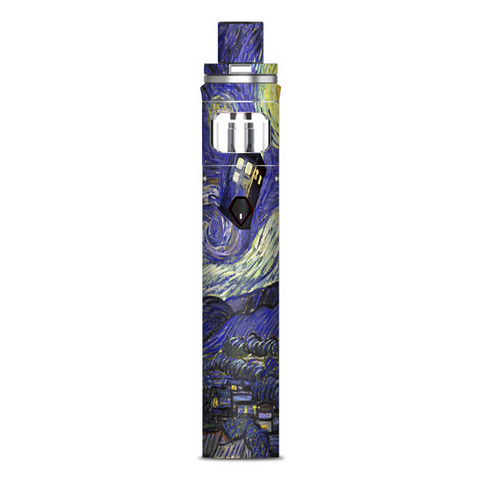 Tardis Starry Night Smok Nord AIO Stick Skin
