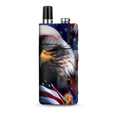 Usa Bald Eagle In Flag Lost Orion Q Skin