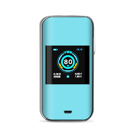 Baby Blue Color Vaporesso Luxe Nano Kit Skin