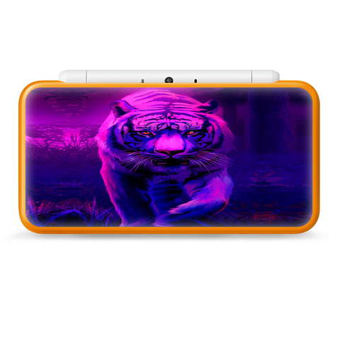 Tiger Prowl Pink Purple Neon Jungle