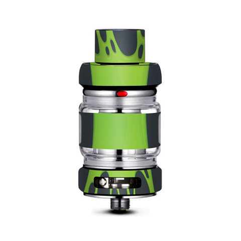 Stretched Slime Green Freemax Mesh Pro Tank Skin