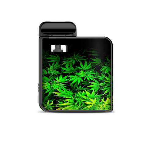 Weed Green Bud Marijuana Leaves Smok Mico Kit Skin