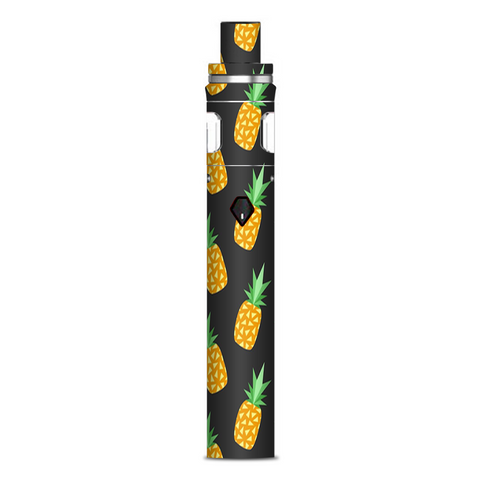 Pineapples Grey Pattern Smok Nord AIO 19 Skin
