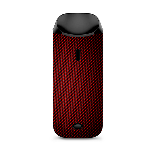 Red Black Carbon Fiber Weave Graphite 3D Vaporesso Nexus AIO Kit Skin