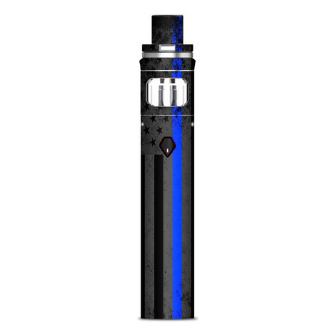 Thin Blue Line American Flag Distressed Smok Nord AIO Stick Skin