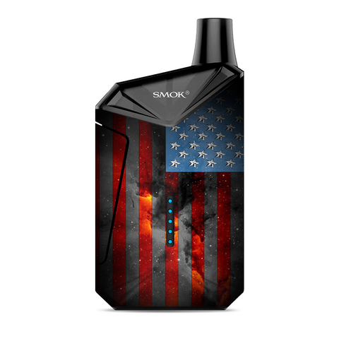 Dark Distressed American Flag Sky Stars Galaxy Smok  X-Force AIO Kit  Skin
