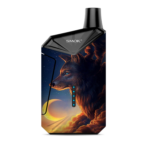 Wolf Clouds Moon Sky Smok  X-Force AIO Kit  Skin