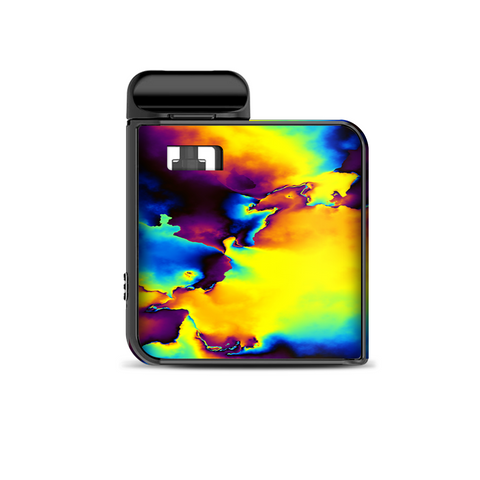 Bright Colorful Abstract Swirl Smok Mico Kit Skin