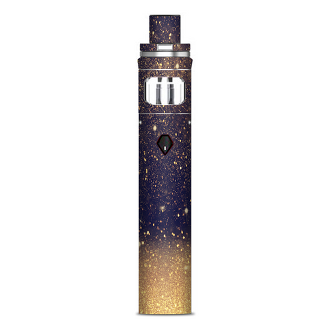 Gold Dust Lens Flare Glitter Smok Nord AIO Stick Skin