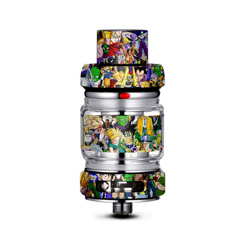 Anime Stickerslap Sticker Bomb Freemax Mesh Pro Tank Skin