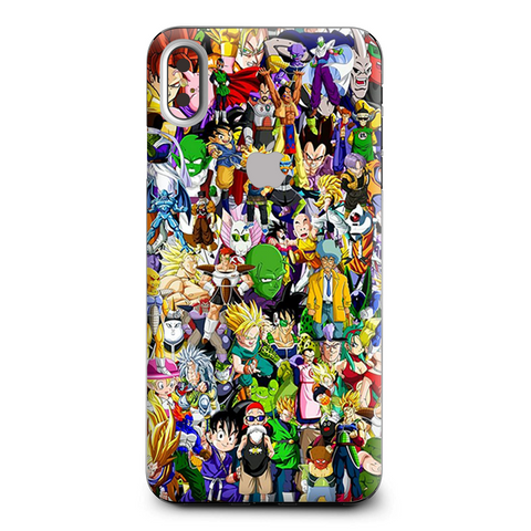 Anime Stickerslap Sticker Bomb Apple iPhone XS Max Skin