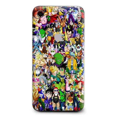 Anime Stickerslap Sticker Bomb Apple iPhone XR Skin