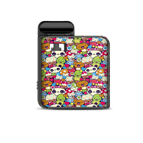 Panda Anime Cartoon Stickerslap Smok Mico Kit Skin