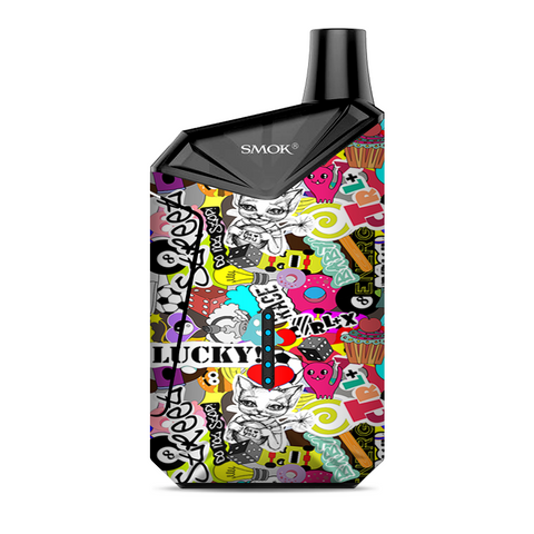 Art Lucky Stickerslap Smok  X-Force AIO Kit  Skin