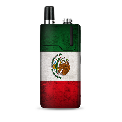 Flag Mexico Grunge Distressed Country Lost Orion Q Skin