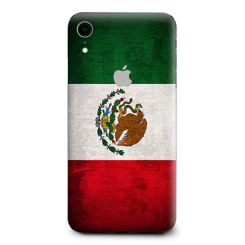 Flag Mexico Grunge Distressed Country Apple iPhone XR Skin