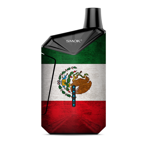 Flag Mexico Grunge Distressed Country Smok  X-Force AIO Kit  Skin