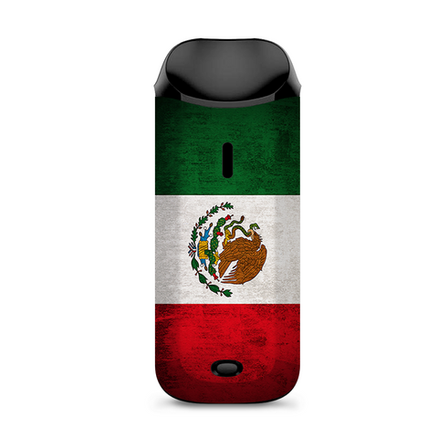 Flag Mexico Grunge Distressed Country Vaporesso Nexus AIO Kit Skin