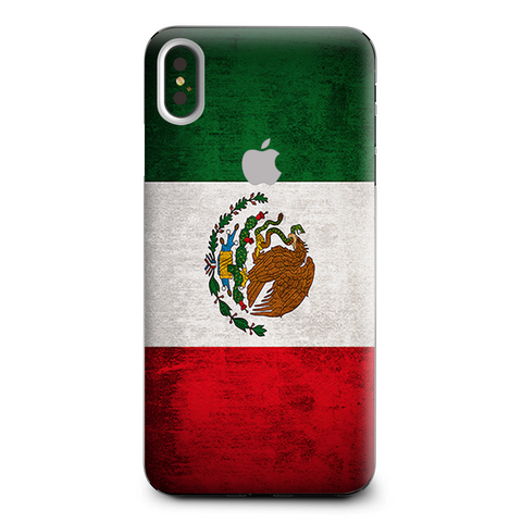 Flag Mexico Grunge Distressed Country Apple iPhone XS Max Skin
