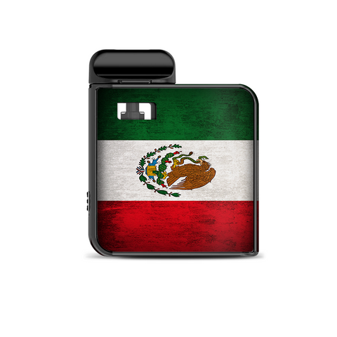 Flag Mexico Grunge Distressed Country Smok Mico Kit Skin