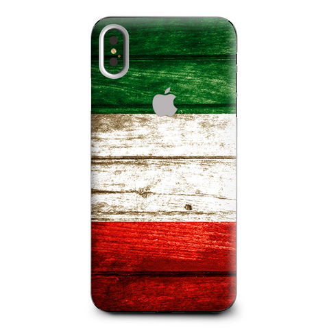 Flag Italy Grunge Distressed Country Apple iPhone XS Max Skin