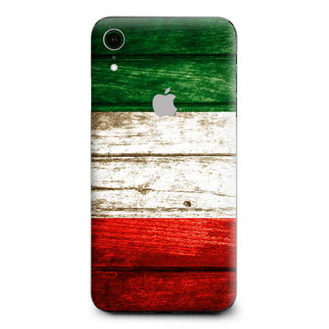 Flag Italy Grunge Distressed Country Apple iPhone XR Skin