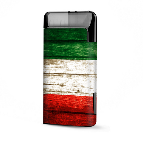 Flag Italy Grunge Distressed Country