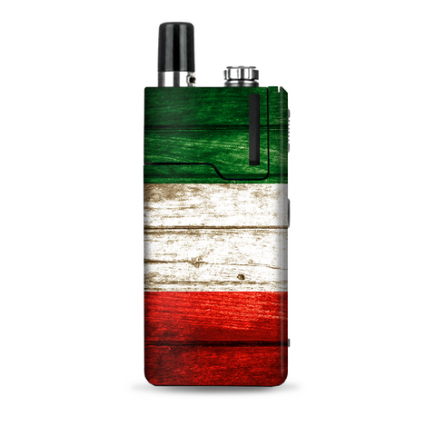 Flag Italy Grunge Distressed Country Lost Orion Q Skin