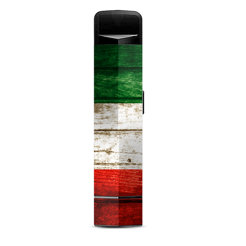 Flag Italy Grunge Distressed Country Suorin Edge Pod System Skin