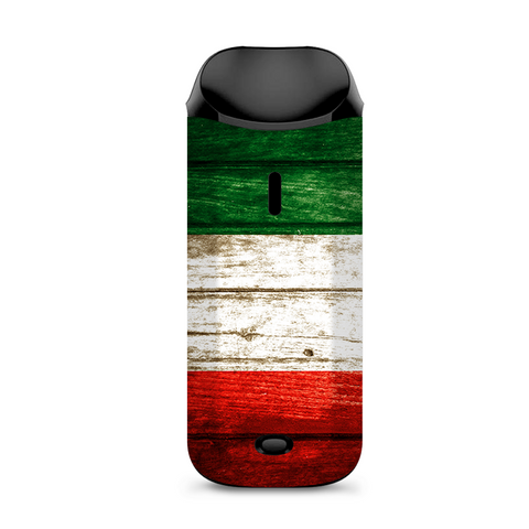 Flag Italy Grunge Distressed Country Vaporesso Nexus AIO Kit Skin