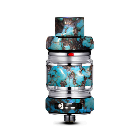 Stab Wood Blue Green Stabilized Stone Freemax Mesh Pro Tank Skin
