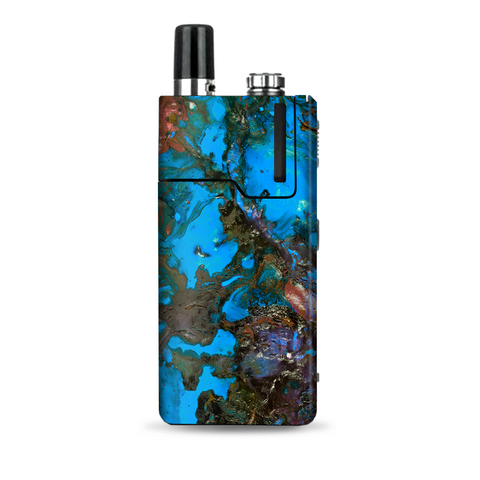 Stab Wood Oil Paint Blue Green Orange Lost Orion Q Skin