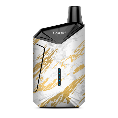 Gold Marble White Granite Stone Slate Smok  X-Force AIO Kit  Skin