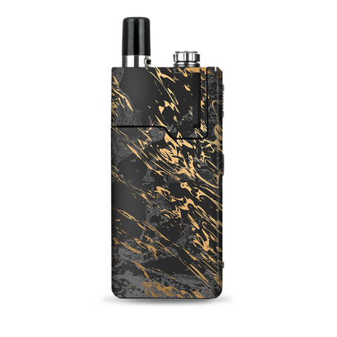 Gold Marble Dark Gray Background Lost Orion Q Skin