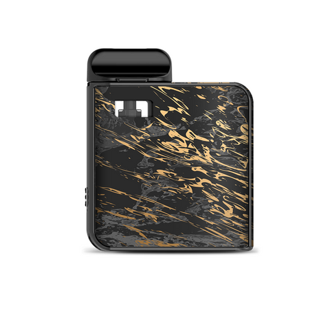 Gold Marble Dark Gray Background Smok Mico Kit Skin